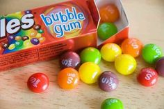 Skittles gum