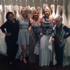 Congratulations to our newest #SolutionsBride  for popping champagne with us today!!!! #SBstylist