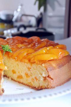 Apricot Cake Recipe by @vicaincucina | Torta soffice di albicocche