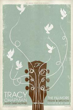 Tracy Chapman Gig Poster