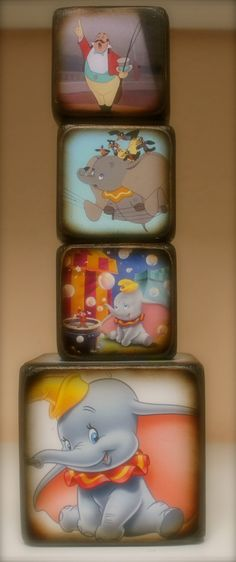 Dumbo Blocks. $19.00, via Etsy.