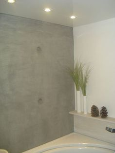 1000 images about fugenlose b der badgestaltung for Marmorputz bad