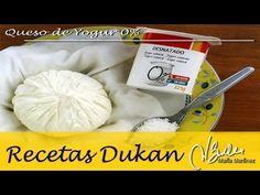 Queso de Yogur 0% (Ataque) – Recetas Dukan Maria Martinez