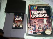 MTV Remote Control game for NES w/ Box Good Condition Music Television
