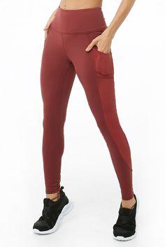 f914f35eb2933 Active Stash Pocket Leggings Knit Leggings, Mesh Panel Leggings, Big  Closets, Spandex,