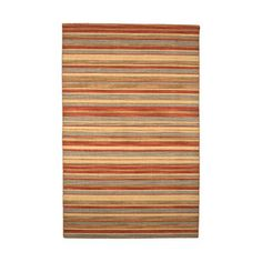 Wool Flat Weave rug 8x10 on Fab.