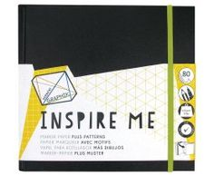 Derwent Graphik Inspire Me book Medium