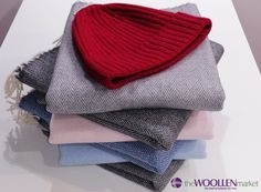 Create unique outfits with our lambswool scarfs and merino wool hats Wool Hats, Unique Outfits, Scarfs, Hats For Women, Merino Wool, Create Your Own, Knitting, Pattern, Stuff To Buy