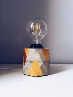 #concrete #lamp #home #decor #handmade #urbanmood https://m.facebook.com/UrbanMoodGeo/