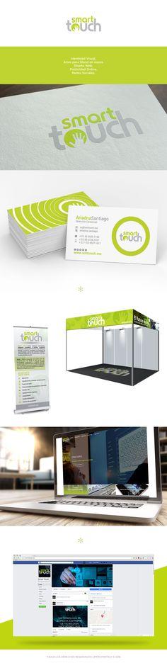 Identidad Visual, Artes para Stand en expos, diseño web, publicidad online y redes sociales