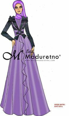 Muslim Dress, Kebaya, Fashion Sketches, Hijab Fashion, Aurora Sleeping Beauty, Disney Princess, Sew, Fashion Design, Outfits
