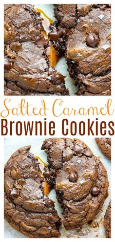 Fun Baking Recipes, Easy Cookie Recipes, Cookie Desserts, Easy Desserts, Sweet Recipes, Delicious Desserts, Yummy Dessert Recipes, Fudge Recipes, Cookie Ideas