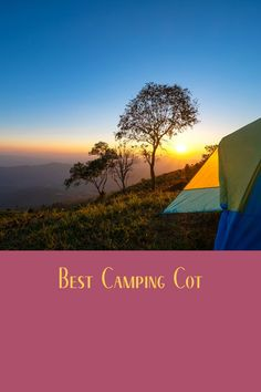 The best way to improve your camping tent sleeping is to sleep on a cot. See what our favorites are. Camping Cot, Camping Storage, Camping Pillows, Diy Camping, Camping Hacks, Outdoor Camping, Camping Heater, Camping Flashlights, Camping Products