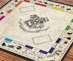 Experience your favorite magical saga in an entirely new light by partaking in a rousing game of Harry Potter Monopoly. This downloadable file includes everything you'll need to transform your plain muggle board game into an enchanted playing surface.