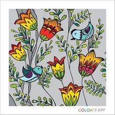 Florals Volume 1: basic colors