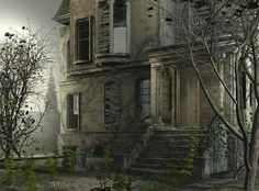 A Collection of extremely creepy abandoned houses Abandoned Buildings, Abandoned Mansions, Abandoned Places, Gothic Buildings, Abandoned Property, Is My House Haunted, Spooky House, Haunted Mansion, Spooky 2