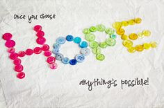 once+you+choose+hope%2C+everything+is+possible.jpg (400×266)