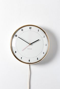 Westclox wall clocks range from the decorative to the standard and practical.