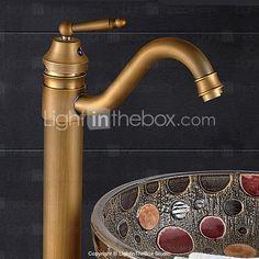 $56 - Bathroom Sink Faucet Classic Style Antique Bronze Finish