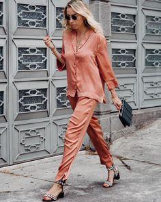 In my jammies | cuando convierto mis pijamas en #streetstyle ¿se atreven?
