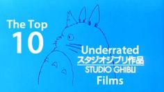 The top 10 underrated Studio Ghibli films 