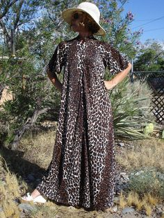 1960s Butterfield 8 Jungle Leopard Print Lounging by bycinbyhand, $55.00