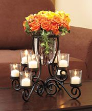 Centerpiece for dinning table that I will one day have... yes please.