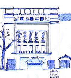 Dibujando en la Calle: Cine Renoir Retiro