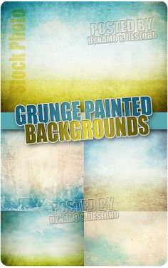 Grunge Painted Backgrounds - UHQ Stock Photo 5 jpg | Up to * pix | 300 dpi | 151 Mb rar