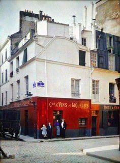 Wines Shop Paris 1900
