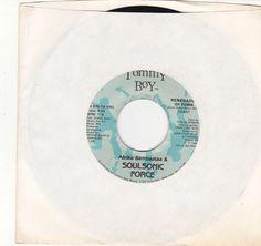 "Afrika Bambaataa / Soulsonic Force / Renegades Of Funk / 7"" Vinyl 45 RPM Jukebox Record #AfrikaBambaataa #Reggae"