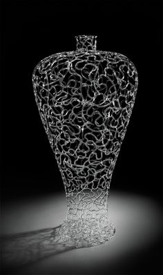 Brnet Kee Young | 'Matrix Series' Lampworked glass