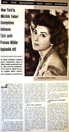 OĞUZ TOPOĞLU : haydarabad prensesi nilüfer hayat dergisi 1962