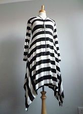 THE MASAI CLOTHING COMPANY QUIRKY ASYMMETRICAL LAGENLOOK TUNIC S UK 12 NEW