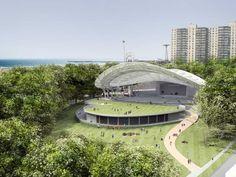 Asser Levy Park Amphitheater Project