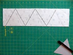 Knotted Cotton: How to make bunting - a faster and less fiddly method