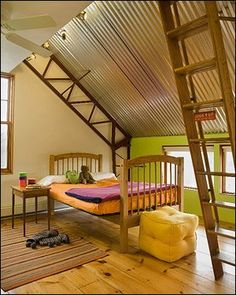 This was the inspiration for Hagen's ceiling... and to top it off the green matches the color of his crib!