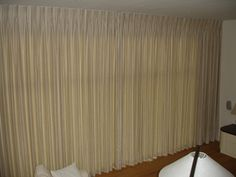 pinch pleat curtains on a track - Google Search