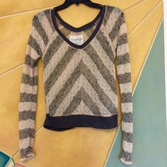 We The Free by Free People Sheer Pullover Great condition. Adorable with a bralette worn under it. Price is pretty firm; not sure if I'm ready to let go! Free People Tops