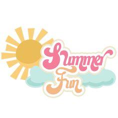 Scrapbooking Summer SVG | Summer Fun SVG scrapbook title summer svg cut files summer svg ...