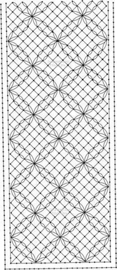 Torchon, med justering burde man kunne lave et mellemværk Bobbin Lacemaking, Lace Art, Bobbin Lace Patterns, Parchment Craft, Lace Outfit, Crochet Books, Needle Lace, Lace Making, Antique Books