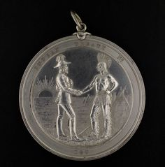 Indian Chiefs Medal, Presented to commemorate Treaty Numbers 8 (Queen Victoria) (item