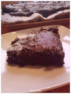 donabimby: Brownies de Chocolate Simples by Nigella /chocolate simple brownies by Nigella