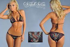 Can not Ditka in micro bikini