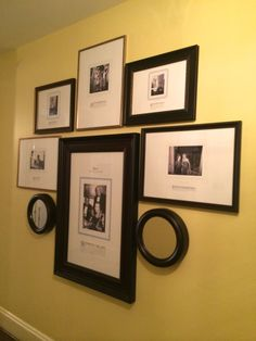 Gallery Wall at The Carolina Inn via The Gracious Posse