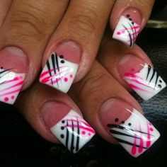 sc nails art designs 547 by wilma - Nail Designs Fingernail Designs, Toe Nail Designs, Acrylic Nail Designs, Fabulous Nails, Gorgeous Nails, Pretty Nails, Acrylic Nail Art, Nail Art Diy, French Nails
