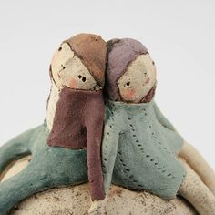 Sculptures Céramiques, Soft Sculpture, Anne Sophie, Art Gallery, Cute Clay, 3d Artist, Ceramic Artists, Diy Doll, Clay Art
