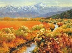 "Cheryl St. John, ""Indian Summer,"" 18 x 24 inches, Oil."