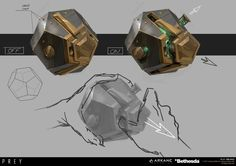 ArtStation - PREY - Recycle grenade , Fred Augis