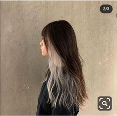 Two Color Hair, Hair Color Streaks, Hair Dye Colors, Hair Inspo, Hair Inspiration, Hair Color Underneath, Blonde Underneath, Peekaboo Hair, Hair Color Techniques